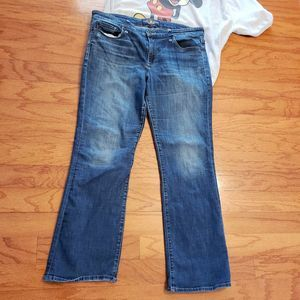 Lucky Brand jeans Sweet Boot Medium Wash 16 / 33